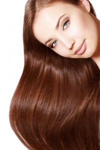 Woman Hair Argan oil